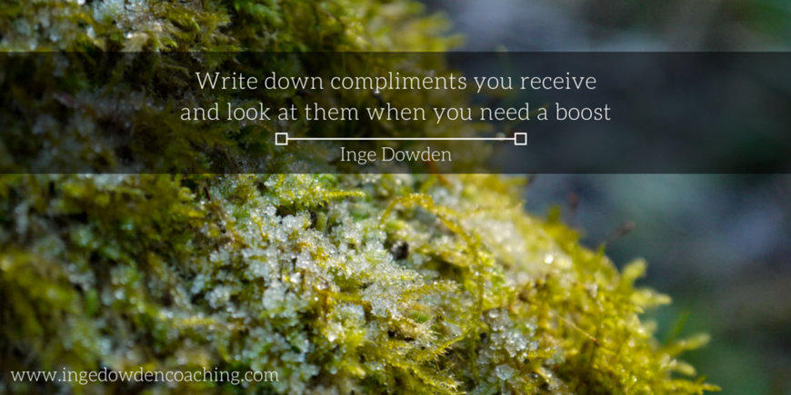 Write down compliments